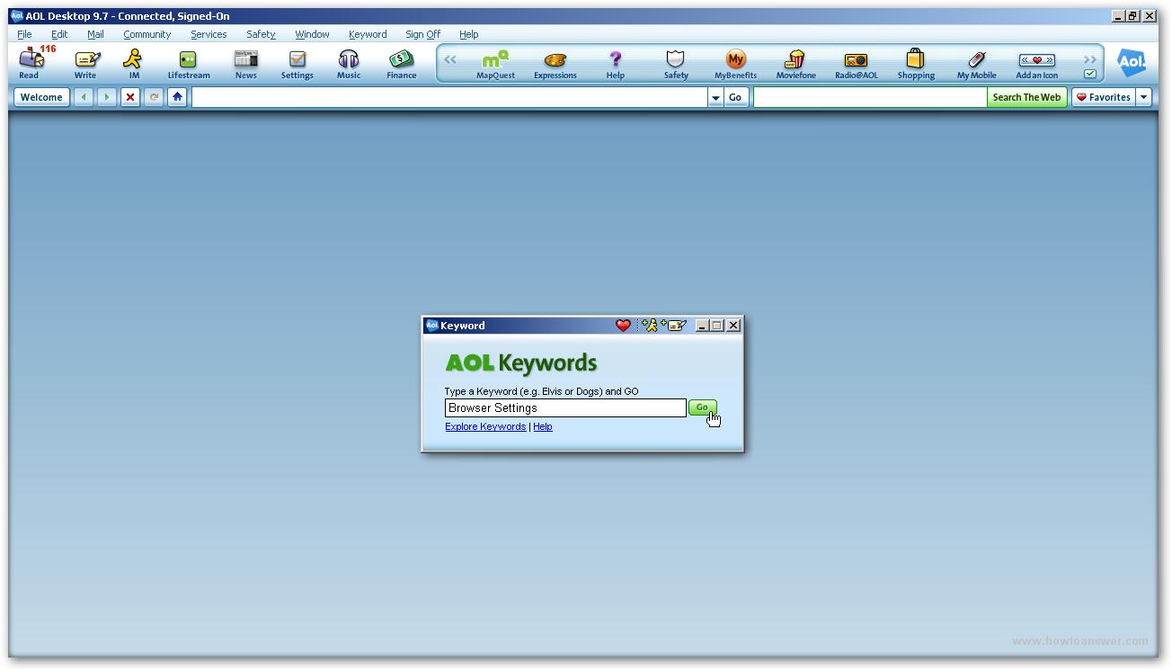 AOL - login