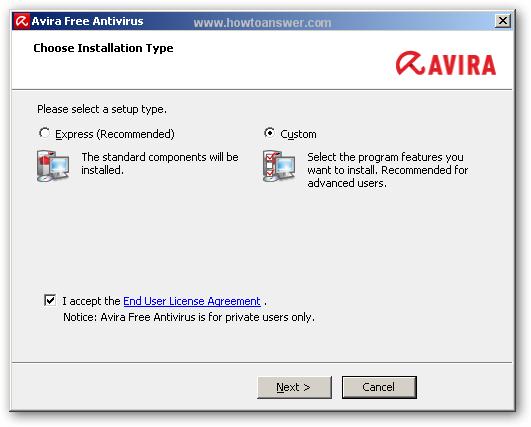 avira antivirus free update