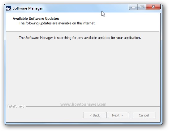 Dragon Software Manager detected an update available