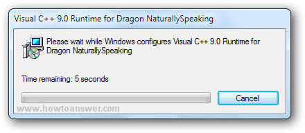 Visual C++ 9.0 Runtime for Dragon NaturallySpeaking