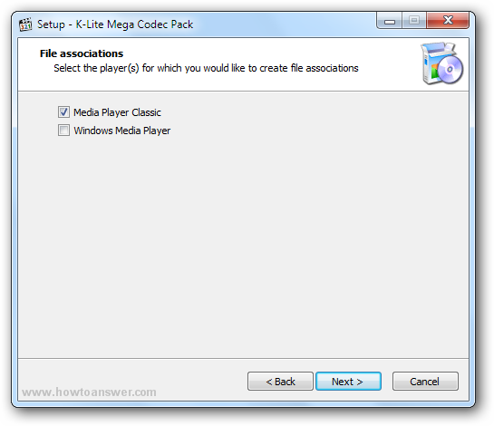 How to install K-Lite Codec Pack