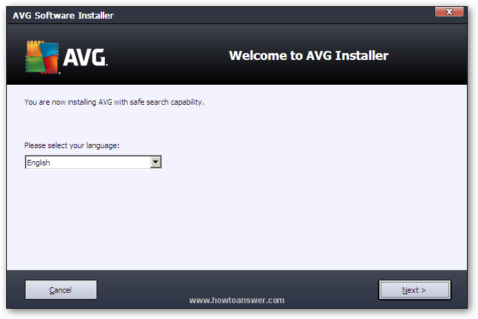 AVG Software Installer