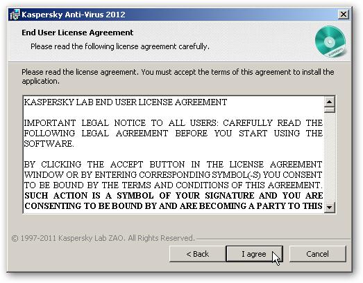 Install Kaspersky Antivirus