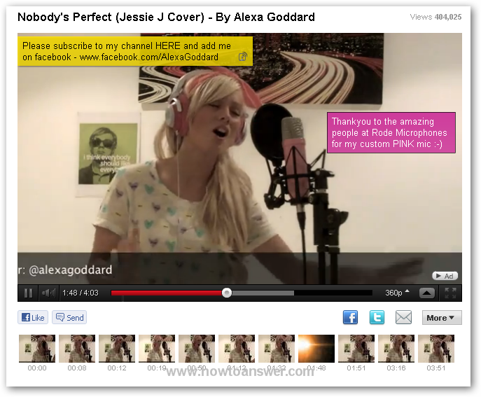 Nobody`s Perfect ( Jessie J Cover ) - By Alexa Goddard