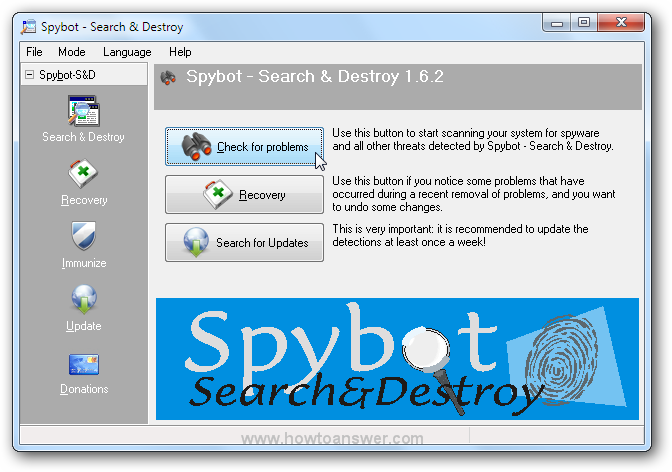 Spybot - Search and Destroy 1.6.2