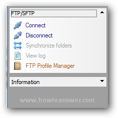 FTP - SFTP manager from RJ TextEd